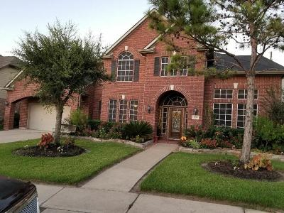 Rosenberg Single Family Home For Sale: 1319 Parker Bluff Lane