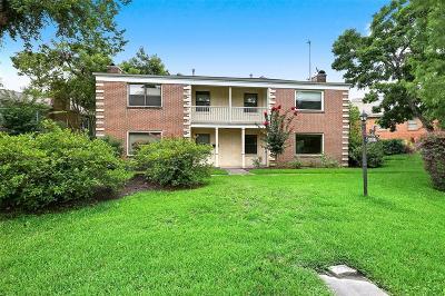 Garden Oaks Multi Family Home For Sale: 3309 Lawrence Street