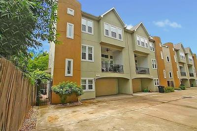 Houston Condo/Townhouse For Sale: 1136 W 26th Street