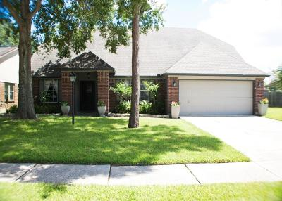 Friendswood Single Family Home For Sale: 15815 Heritage Falls Drive