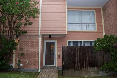 Galveston Condo/Townhouse For Sale: 3312 Ashton Place