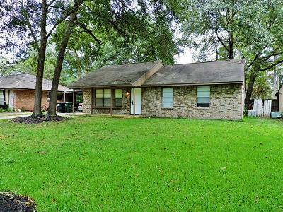 Kingwood Single Family Home For Sale: 22214 Rustic Bridge