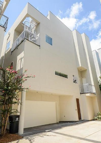 Houston Condo/Townhouse For Sale: 1822 Southmore Boulevard #A
