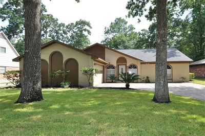 Kingwood Single Family Home For Sale: 1926 Lake Hills Drive