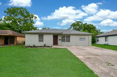 Houston Single Family Home For Sale: 10410 Buffum Street