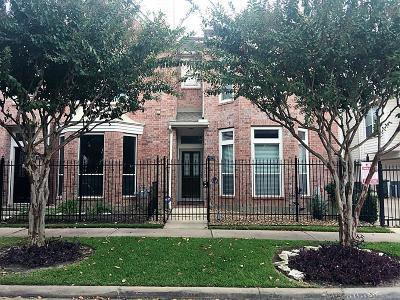 Houston Condo/Townhouse For Sale: 1929 Calumet Street