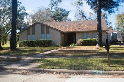 Houston Single Family Home For Sale: 7415 Deep Forest Drive