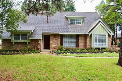 Houston Single Family Home For Sale: 2327 Carleen Road