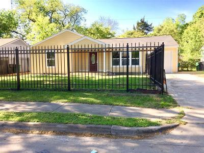 Houston TX Single Family Home For Sale: $163,900