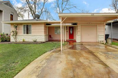 Houston Single Family Home For Sale: 6927 Burgess Street