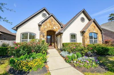 Katy TX Single Family Home For Sale: $559,000