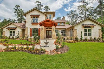 Conroe Single Family Home For Sale: 6122 Canyon Creek Lane