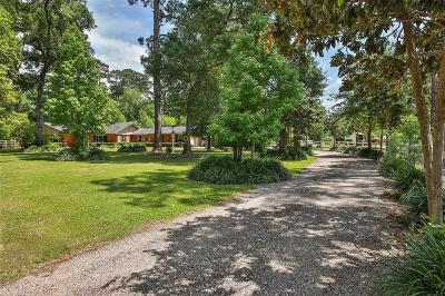 Tomball Single Family Home For Sale: 9011 Dowdell Road