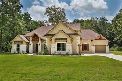 Huffman Single Family Home For Sale: 28522 Riverside Crest Lane