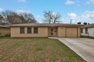 Texas City Single Family Home For Sale: 1729 2nd Avenue N