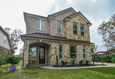 Houston TX Single Family Home For Sale: $290,000