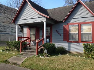 Houston Single Family Home For Sale: 4601 Farmer Street