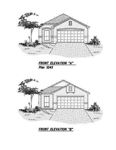 Dickinson Single Family Home For Sale: 4106 West Bayou Maison