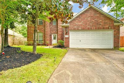 Conroe Single Family Home For Sale: 134 Wimberly Way