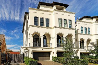 Houston Condo/Townhouse For Sale: 316 W Clay Street