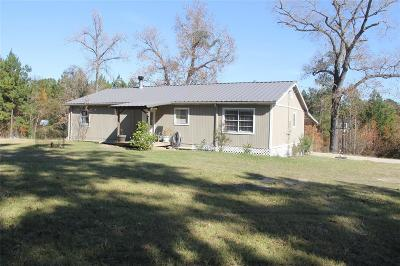 Trinity County Single Family Home For Sale: 296 Barker Lane