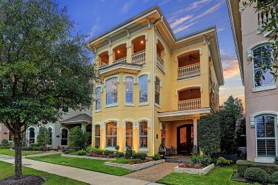 Conroe, Spring, The Woodlands Single Family Home For Sale: 87 Olmstead Row
