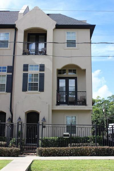 Houston Condo/Townhouse For Sale: 1221 Summer Street