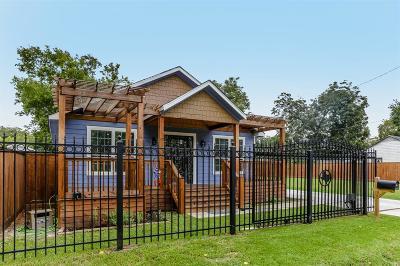 Houston Single Family Home For Sale: 4108 Sayers Street