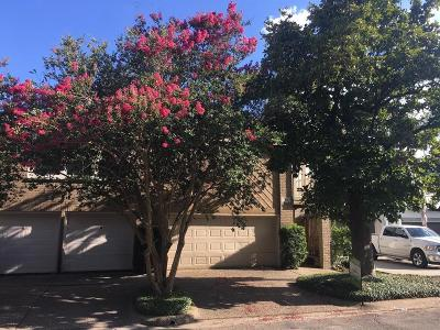 Houston Condo/Townhouse For Sale: 1205 1/2 Hyde Park Boulevard