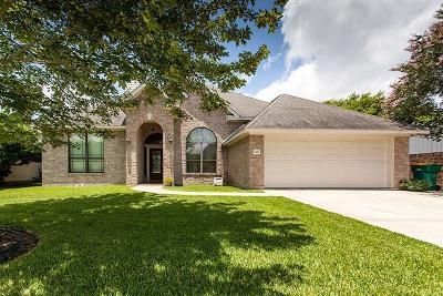 Seabrook Single Family Home For Sale: 4610 S Flamingo Drive