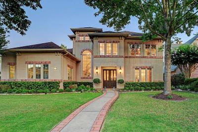 Houston TX Single Family Home For Sale: $1,200,000