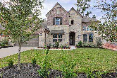 The Woodlands Single Family Home For Sale: 45 Seasonal Crest Circle