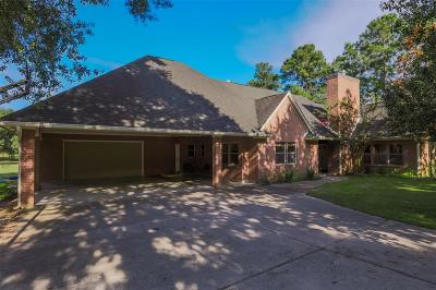 Conroe Single Family Home For Sale: 15223 Sunset Trail