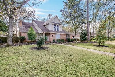 Kingwood Single Family Home For Sale: 3730 Rocky Woods Drive