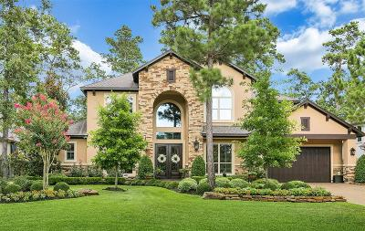 The Woodlands Single Family Home For Sale: 106 W Ambassador Bend