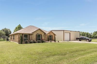 Manvel Single Family Home For Sale: 807 Hal McLain Road