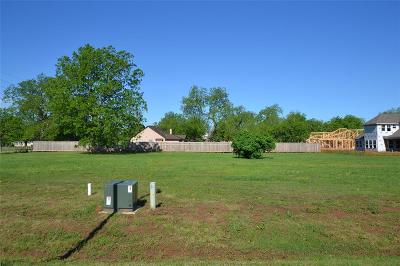Fulshear Residential Lots & Land For Sale: 3407 Westhaven Court