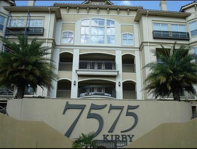Condo/Townhouse For Sale: 7575 Kirby Drive #2302