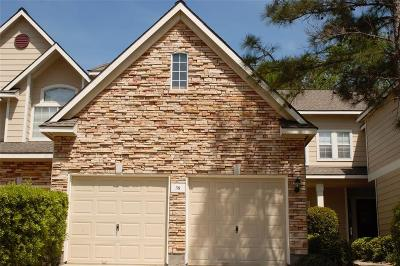The Woodlands Condo/Townhouse For Sale: 38 Wintergreen Trail