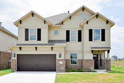 Willis Single Family Home For Sale: 10725 S Lake Mist Lane