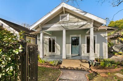 Houston Single Family Home For Sale: 1347 Beverly Street