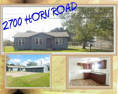Bay City Single Family Home For Sale: 2700 Horn Road