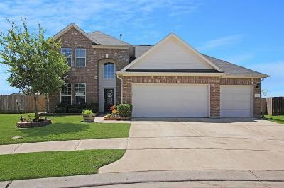 La Marque Single Family Home For Sale: 866 Sand Crab Lane