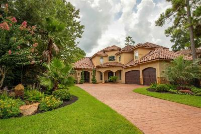 The Woodlands TX Single Family Home For Sale: $1,190,000