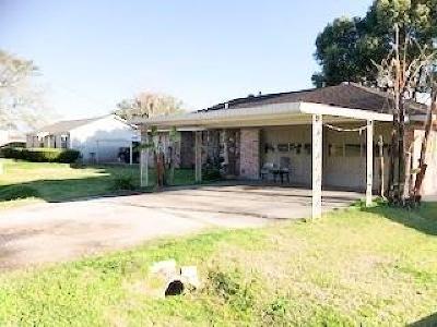Rosenberg Single Family Home For Sale: 1614 Elizabeth Avenue