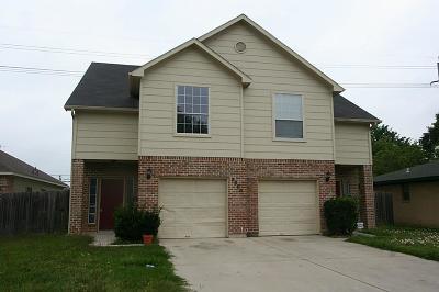 Houston Multi Family Home For Sale: 9606 Ashville Drive #A/B