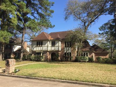Houston Single Family Home For Sale: 17514 Ridge Top Drive