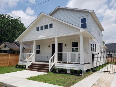 Houston Single Family Home For Sale: 309 Morris Street
