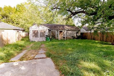 Houston Single Family Home For Sale: 6835 Saint Augustine Street