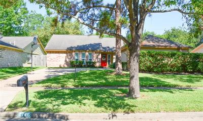 Sugar Land Single Family Home For Sale: 2746 Colony Drive